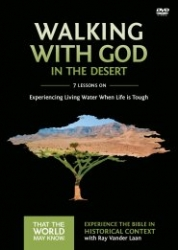 Walking with God in the Desert (WORKBOOK): Faith Lessons from Israel